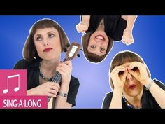 Head Shoulders Knees and Toes in Spanish and English - Kids Songs by Alina Celeste - YouTube