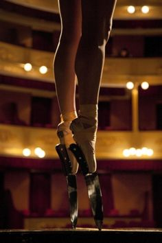 Ballerina Traverses Piano Wearing Sharp Kitchen Knives (Video in Link)
