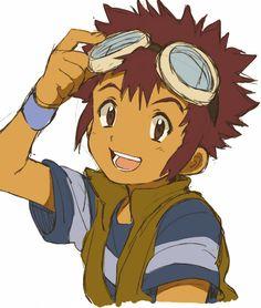 Daisuke Motomiya - Digimon Adventure 02