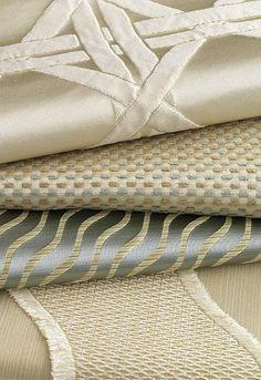 Fabric ideas - Beautiful neutral textures