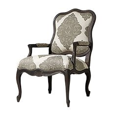 "Tenley 28"" Upholstered Chair in Mansion Pewter"