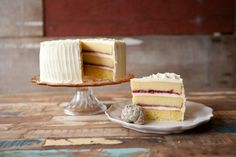 Vanilla and Raspberry Jam Layer Cake - just like the layer cake Anne made for Mr. and Mrs. Allen. Just don't use anodyne liniment instead of vanilla!