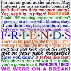 Friends TV Quotes Apron on CafePress.com
