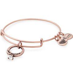 Charm Jewelry Just Engaged Charm Bangle Alex And Ani Bracelets, Bangle Bracelets With Charms, Ring Bracelet, Bangles, Ankle Bracelets, Wrap Bracelets, Pandora Bracelets, Charm Jewelry, Jewelry Rings