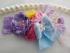 Pink Headband/Baby Headband/Baby Headbands and Bows/Infant Headband/Baby Girl Headband/Girl Headband Baby/Toddler Headband/Baby Romper by OohLaLaDivasandDudes on Etsy