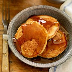 Apple Pie Pancakes Apple pie spice, apple juice and apples give these pancakes a triple dose of fruit. Both pancakes and maple syrup have a rich tradition in the Midwest, where winter and spring festivals celebrate the syrup harvest.