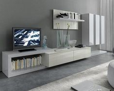 Day de Diotti Tv Furniture, Italian Furniture, Living Room Furniture, Living Room White, Living Room Modern, Living Room Designs, Muebles Rack Tv, Tv Wall Brackets, Modern Tv Cabinet