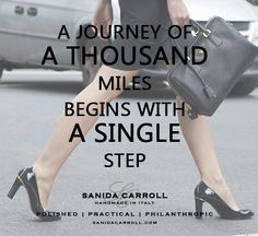 It also begins beneath one's feet!