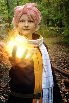Fairy tail cosplay... Natsu Dragneel by DeathLifeCosplayCrew