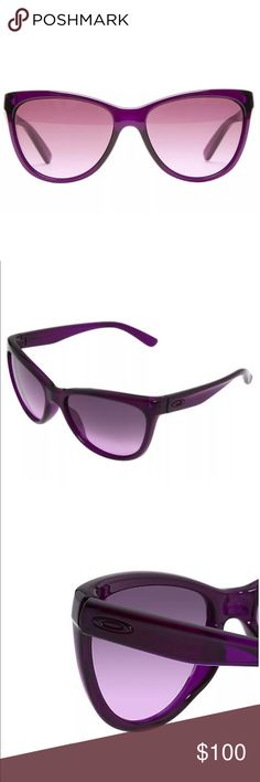 Women's Oakley Fringe Sunglasses Never been worn! Includes both hard and soft cases. Oakley Accessories Sunglasses