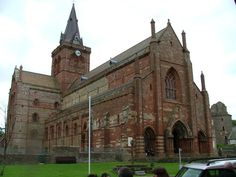 The Cathedral of St.Magnus Kirkwall,Orkney,Scotland