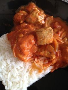 Porc au curry et au lait de coco ww ... 5 pp - Rachel et sa cuisine légère et gourmande