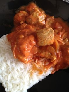 porc au curry et au lait de coco