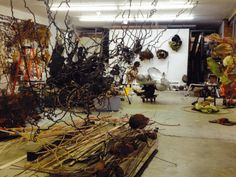 In the studio with Judy Pfaff: the genesis of two solo exhibitions « re:sculpt | International Sculpture Center