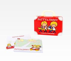 Patty & Jimmy Memo Pad With Case: Friendship  Patty and Jimmy!! Memories!!!