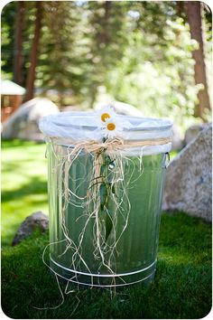 Trash can be beautiful too!