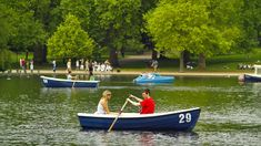 boating in hyde park