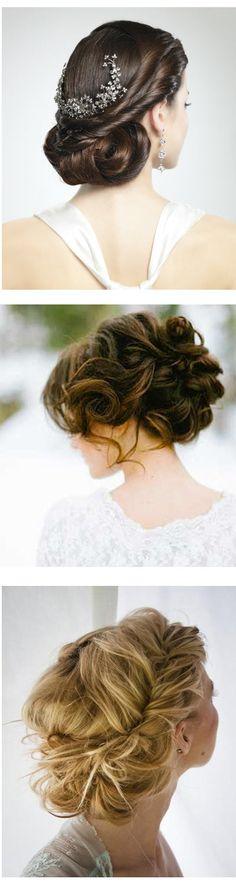 Recogido para #boda, elegante y sofisticado