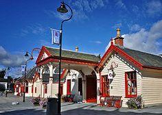 Ballater Railway Station Scotland