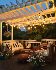 12 Pergola Patio Ideas that are perfect for garden lovers! Pergola Garden, Deck With Pergola, Pergola Shade, Pergola Plans, Diy Pergola, Backyard Patio, Pergola Ideas, Pergola Kits, Patio Shade