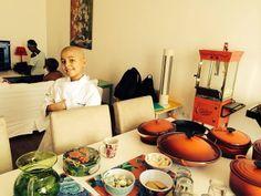 Como um menino de 8 anos encontrou na gastronomia uma forma de lidar com o câncer
