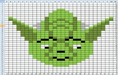 Penny-wise Knitting: Inartsia Star War Charts --- chart patterns