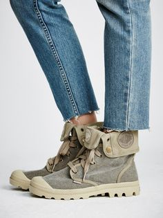 Palladium Baggy Lace-Up Boot at Free People Clothing Boutique