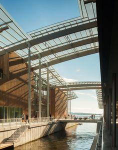 Tjuvholmen Icon Complex, Oslo, Norway, Renzo Piano. Un Fiordo de concreto... Espectacular!