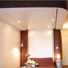 libao le lit suspendu motoris qui monte et qui descend tout seul du plafond lit suspendu. Black Bedroom Furniture Sets. Home Design Ideas