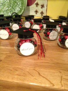 Discover thousands of images about Perfect graduation favor. Quick, inexpensive & will make a big wow at your party! College Graduation Parties, Graduation Celebration, Graduation Party Decor, Grad Parties, Graduation Gifts, Graduation Ideas, Graduation Bouquet, Graduation Cookies, Graduation Party Centerpieces