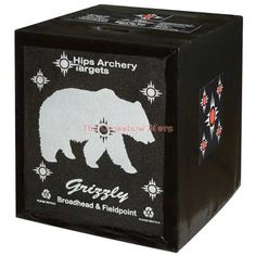Hips X2 Grizzly Target #Crossbow #Target #Archery #Arrows #Hunting  Product Page - http://www.thecrossbowstore.com/Hips-X2-Grizzly-Target-p/hips-grizzly.htm