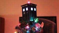 TARDIS tree topper...Umm....