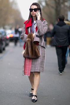 Неделя моды в Милане, осень-зима 2016: street style. Часть 2 (фото 13)