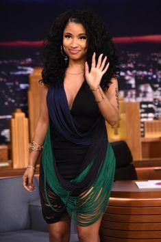 Nicki Minaj Photos - Nicki Minaj Visits 'The Tonight Show Starring Jimmy Fallon' at Rockefeller Center on December 16, 2014 in New York City. - Nicki Minaj Visits 'The Tonight Show'