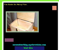 Free Wooden Box Making Plans 105151 - Woodworking Plans and Projects!