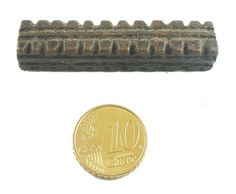 African Charms / Akan gold Weight - Rectangular Form 3 / Trinket, unique good luck charm / Akan people old curency / African art
