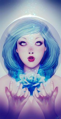 Blauerfeuer by Lavah.deviantart.com on @deviantART
