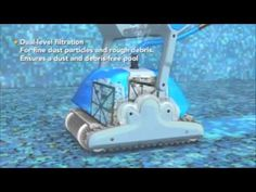 Dolphin Automatic Pool Cleaner by maytronics: How a Dolphin Robotic Pool Cleaner works