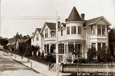 Gosby House Pacific Grove California  Circa 1900 Photograph by California Views Mr Pat Hathaway Archives
