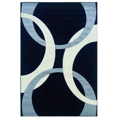 Found it at Wayfair - Manchester Hand-Woven Blue Area Rug