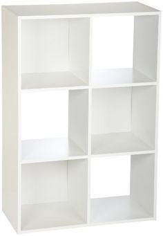 ClosetMaid Cubeicals 6-Cube Organizer, White ClosetMaid Cubeicals