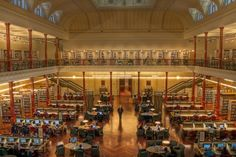 Redmond Barry Reading Room, State Library of Victoria, Melbourne