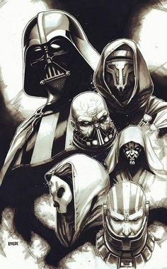Sith Lords by Ryan Pasibe