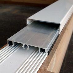 Glazen dak klemprofiel voor veranda midden | Glasdiscount Office Supplies, Glass House, Corning Glass