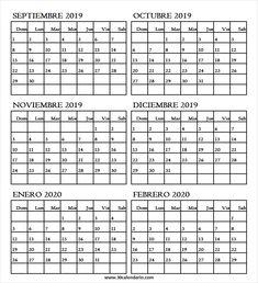 Calendario Febrero 2020 Colombia.47 Best Calendario 2019 Images