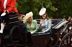 Kate Middleton Photos - Royals Attend the Trooping of the the Colour 2015 - Zimbio