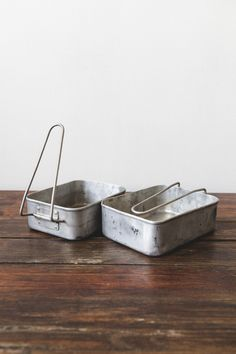 Two Vintage Lunch Box - NOMAD ATELIER
