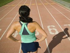 Monthly running tests to track if your running performance is improving...good idea!