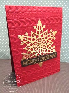 Christmas Cards To Make, Xmas Cards, Holiday Cards, Snowflake Cards, Snowflakes, Stamping, Card Ideas, Calendar, Scrap