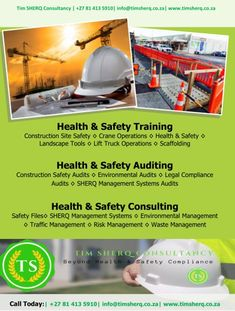 For all your Health and Safety Consultancy, Training and Auditing Digital Marketing Strategy, Marketing Tools, Online Marketing, Advertising Research, Video Advertising, Safety Audit, Content Tools, Competitive Intelligence, Construction Safety